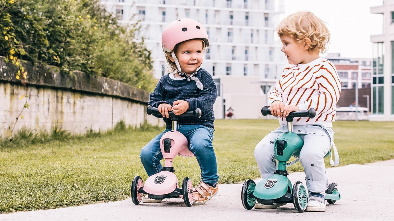 Scoot-and-ride